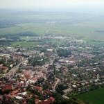 Město Dobruška - letecký pohled (zdroj: Wikipedia)